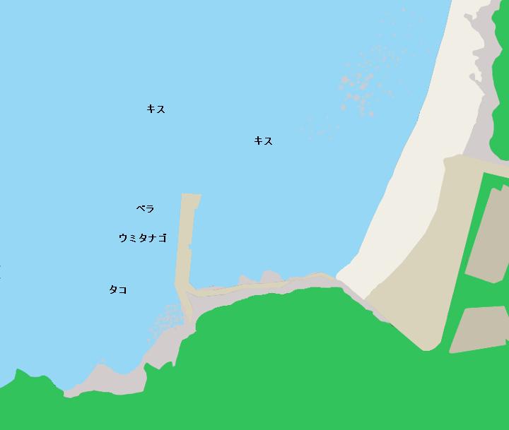 江ノ島西浦漁港のポイント