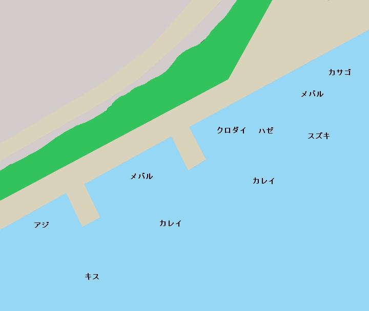 水江町公園周辺のポイント