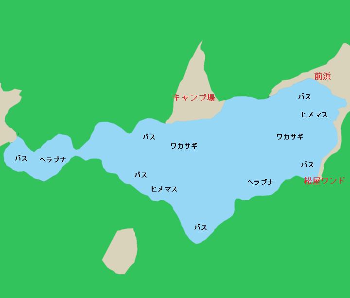 西湖ポイント図