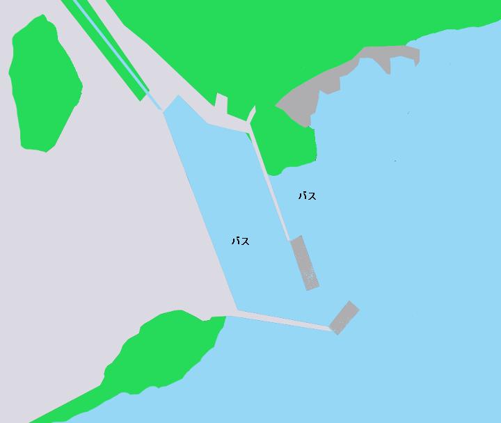 琵琶湖なぎさ漁港周辺のポイント