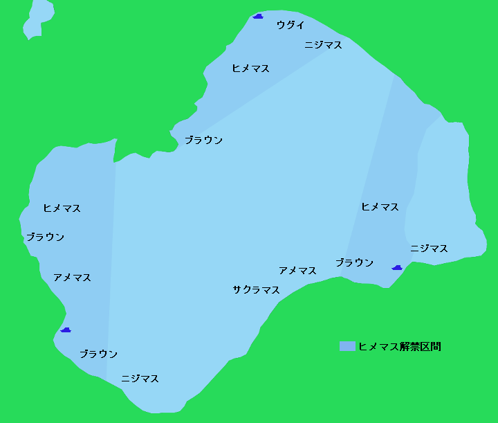 支笏湖ポイント図