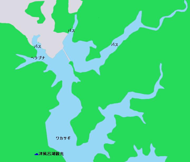 津風呂湖ポイント図1