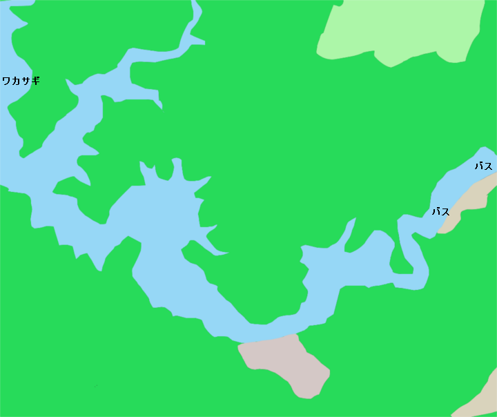 津風呂湖ポイント図2