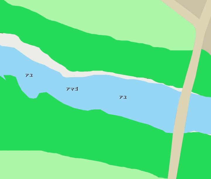 由良川山家橋周辺のポイント