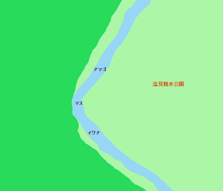 姉川温見親水公園周辺のポイント