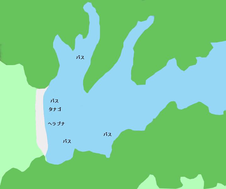 加瀬沼ポイント図