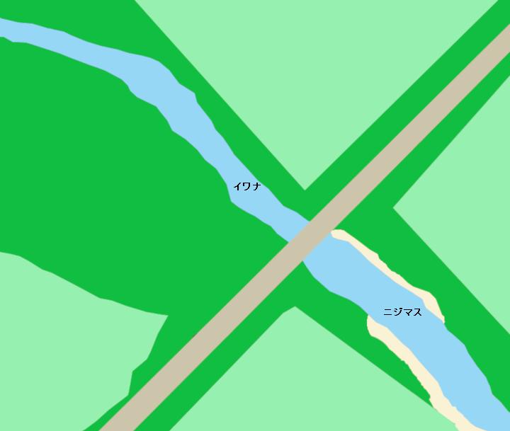 無加川厚和橋周辺のポイント