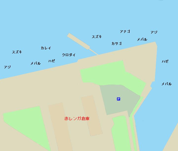 赤レンガパークポイント図