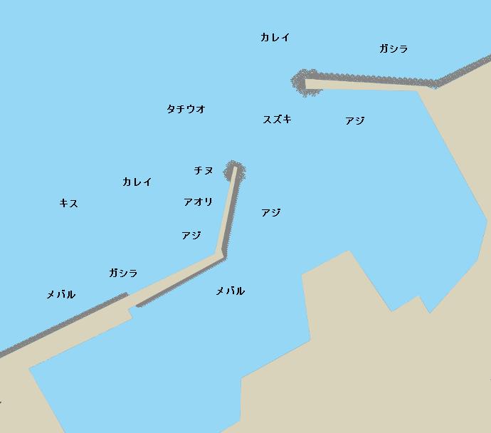 深日港のポイント