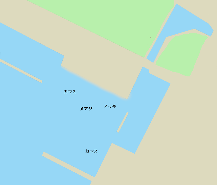 父島二見港スロープ