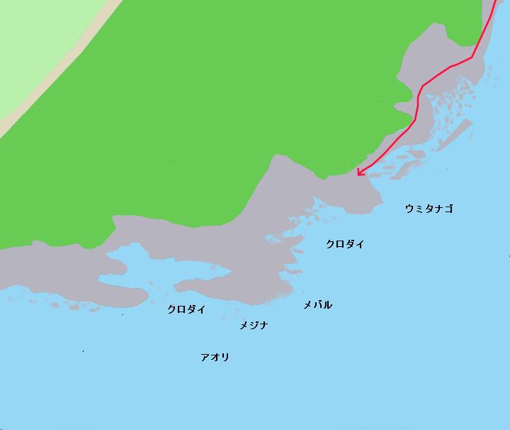 八景原ポイント図