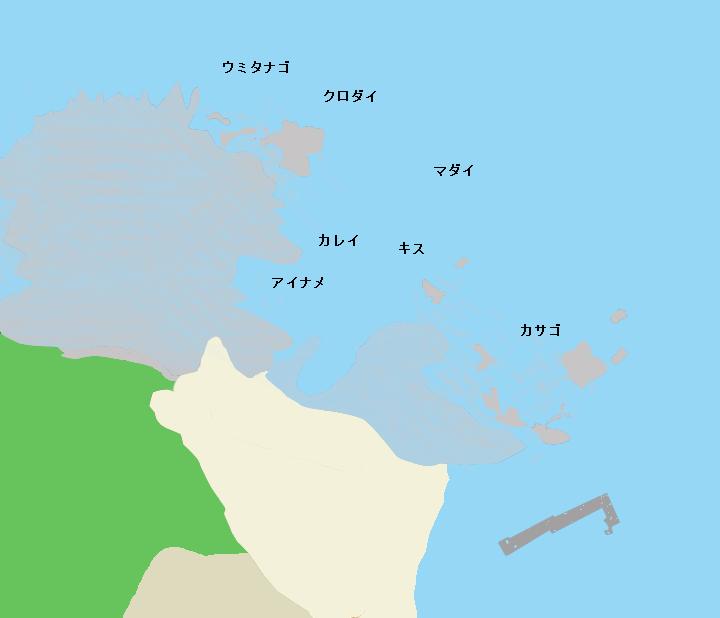 旗山崎ポイント図