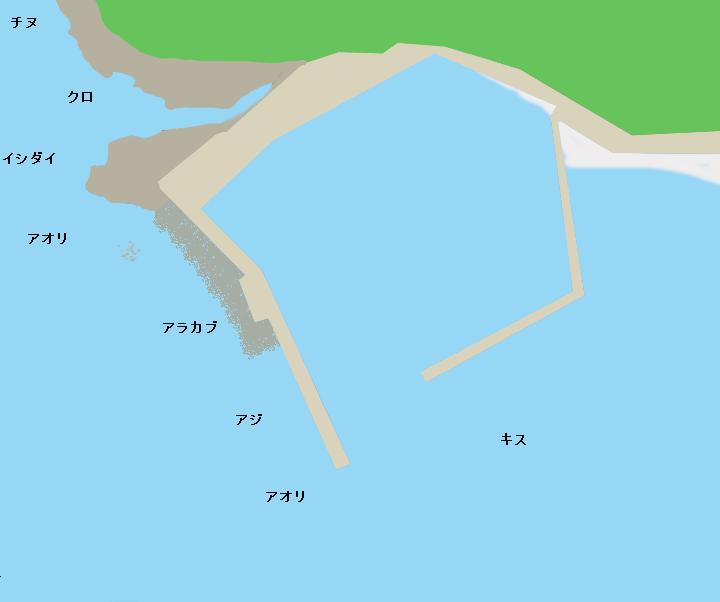 平戸飯良漁港のポイント