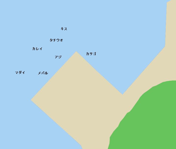 伊方港のポイント