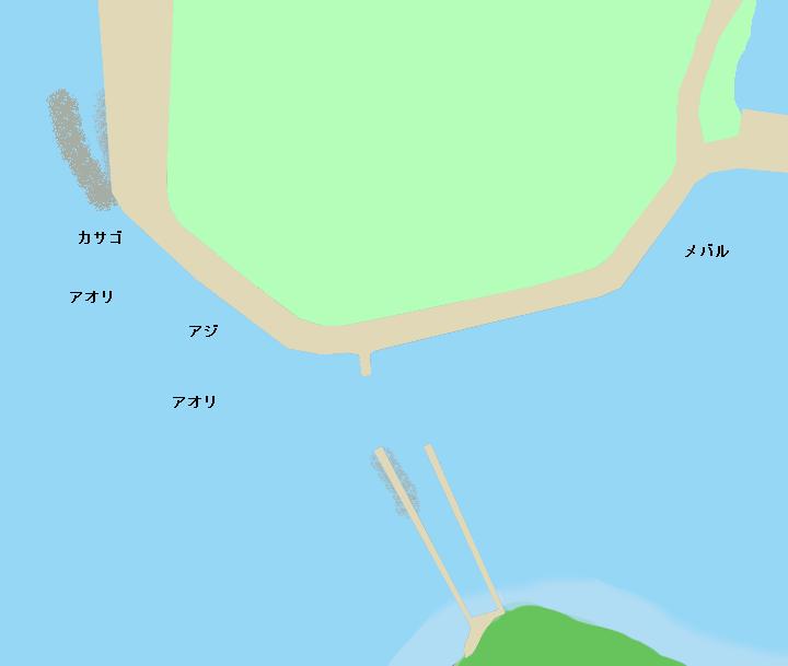高知県土佐市井の尻のポイント