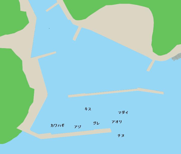鯆越漁港のポイント