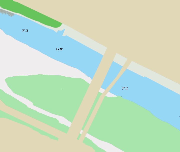 金目川土屋橋付近のポイント