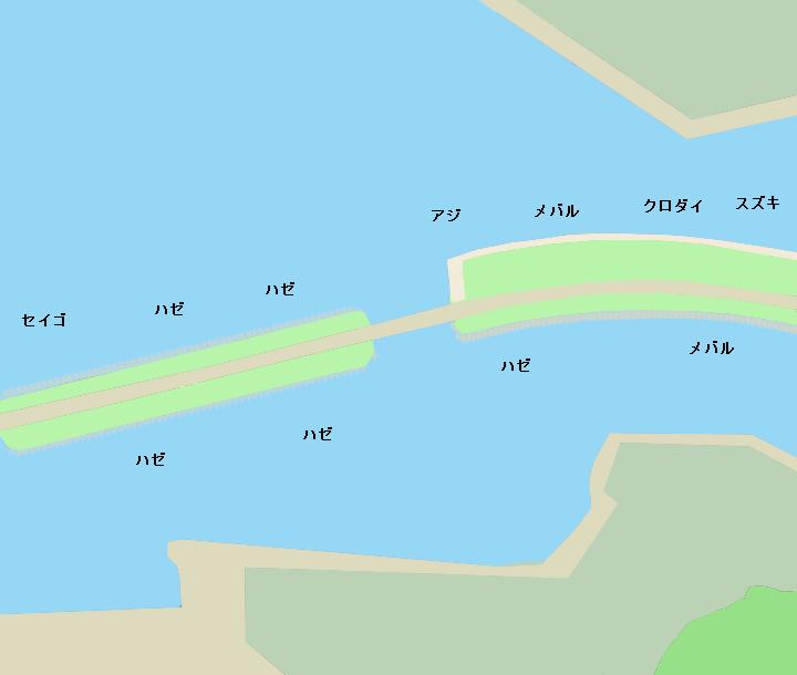 汽車道ポイント図