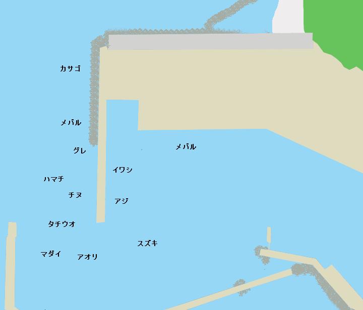 小島漁港のポイント