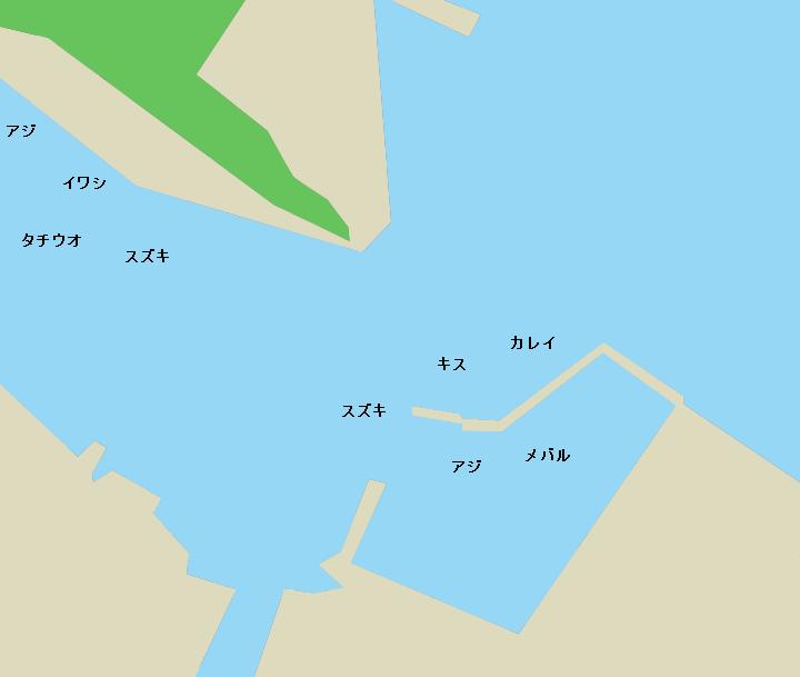 小松島漁港周辺