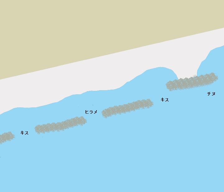 高知海岸(浜改田付近)のポイント