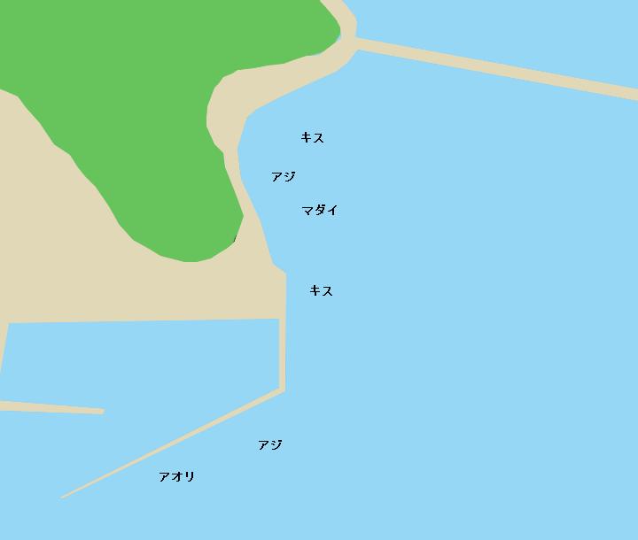 九島大橋周辺のポイント