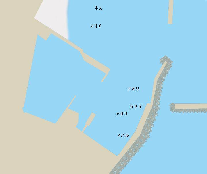 前津吉港のポイント