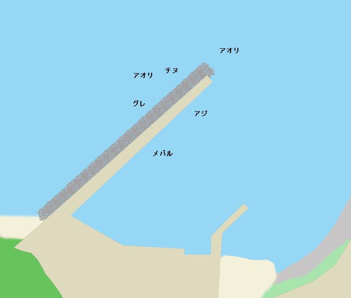 三尾川漁港のポイント