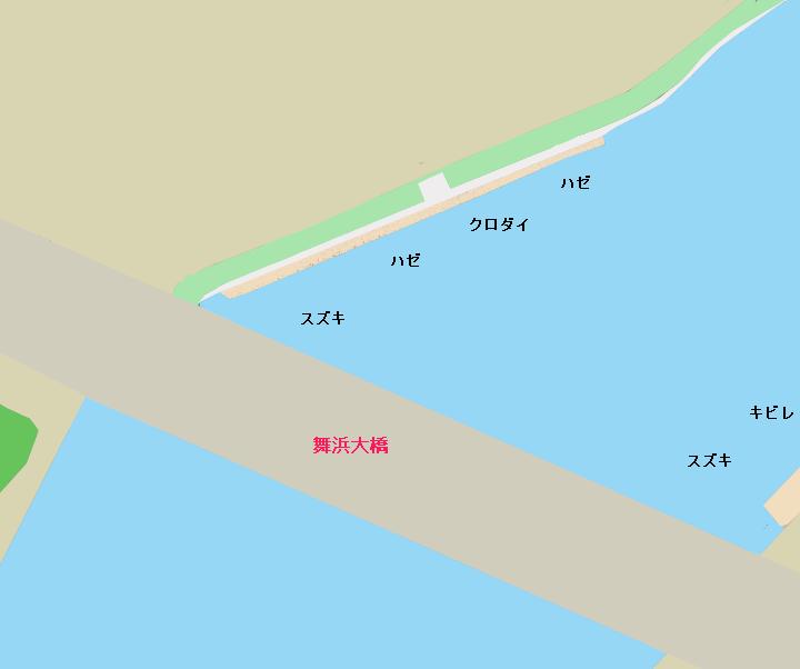 旧江戸川河口・舞浜大橋・南葛西五丁目公園のポイント