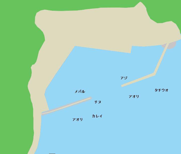 室漁港ポイント図