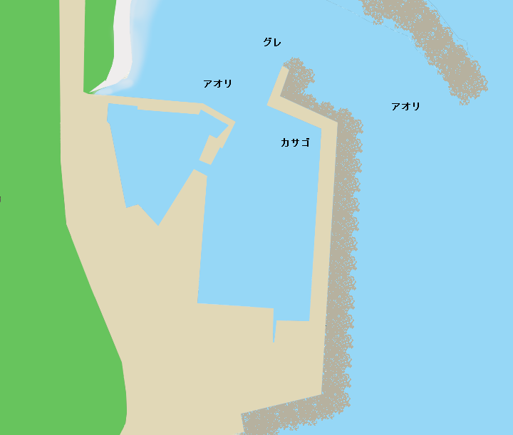 黒潮町灘漁港のポイント