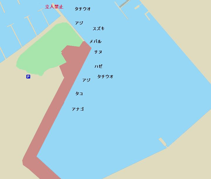 泉大津なぎさ公園のポイント