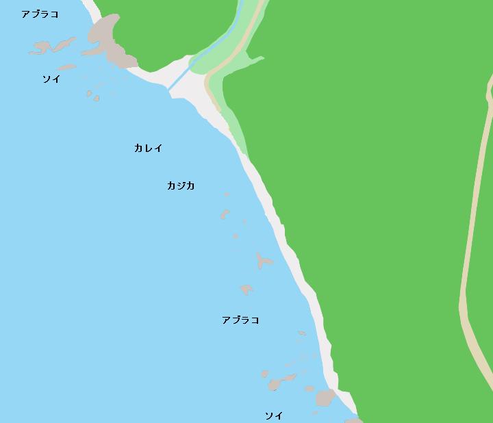 送毛海岸のポイント