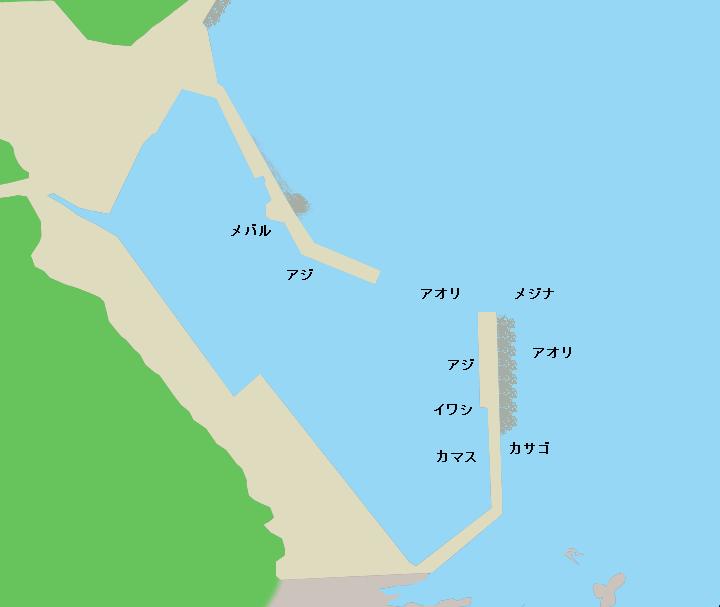 大瀬漁港のポイント