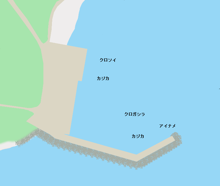 利尻島南浜漁港のポイント