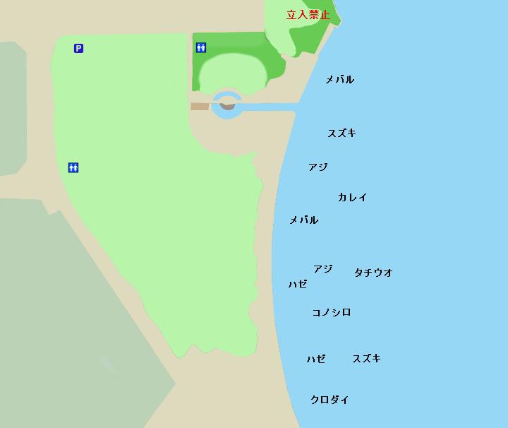 臨港パークポイント図
