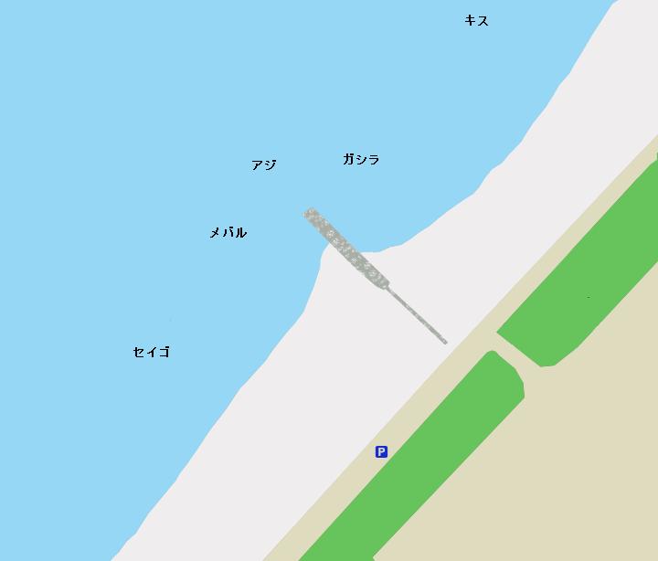 りんくうマーブルビーチのポイント