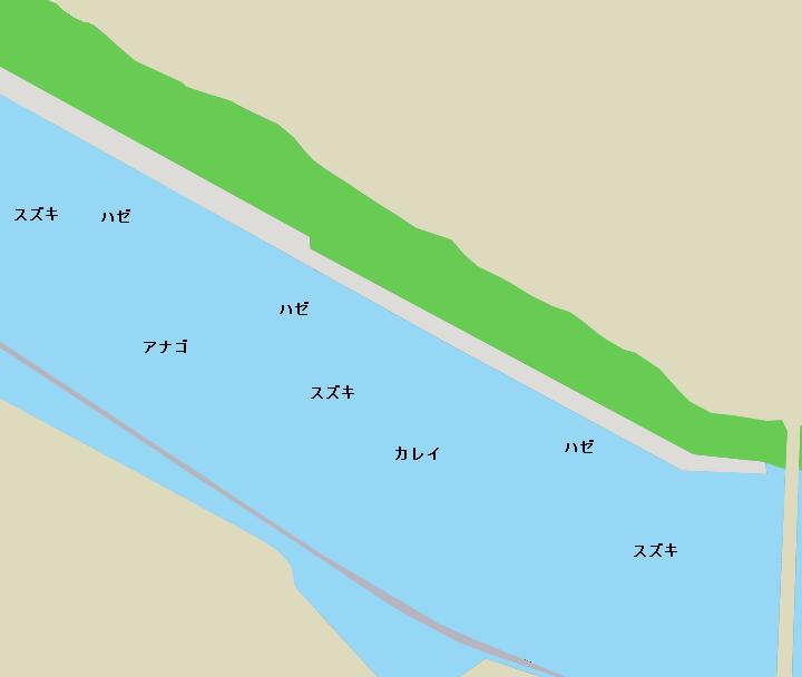 京浜運河緑道公園ポイント図