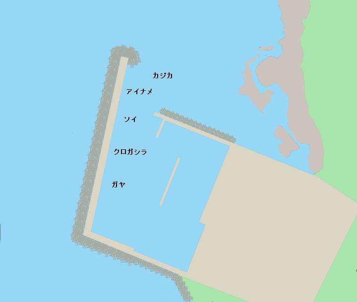 利尻島栄浜漁港のポイント