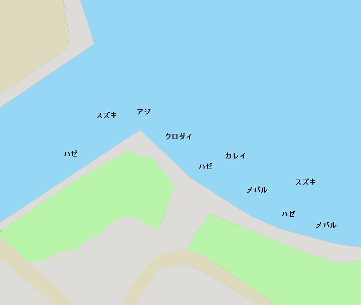 新港パークポイント図
