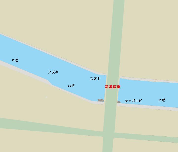 高浜運河ポイント図