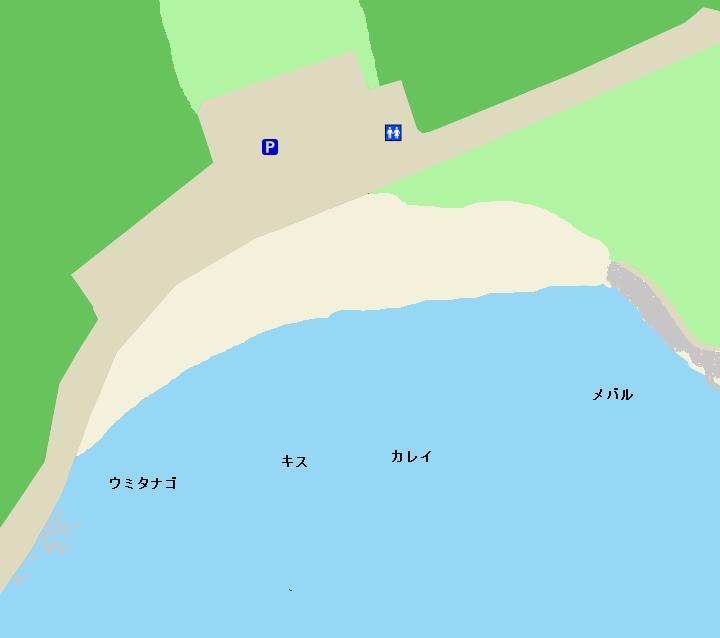 たたら浜ポイント図