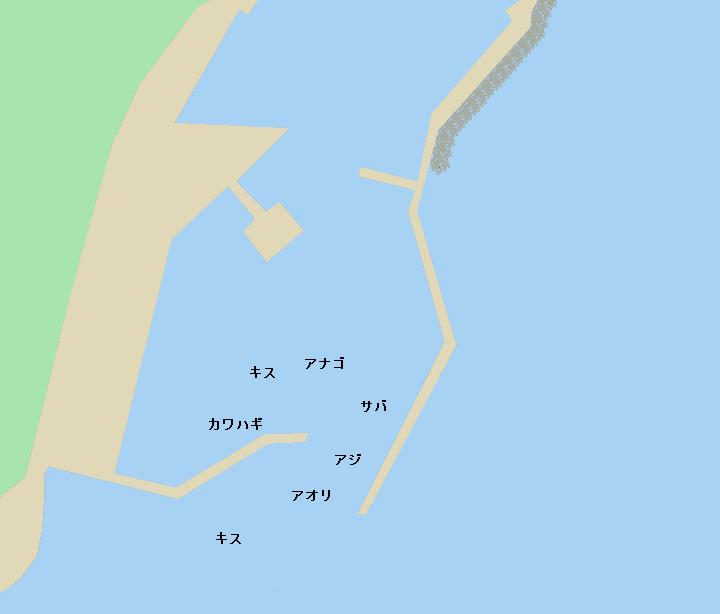 友浦港のポイント