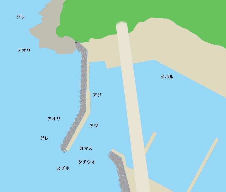 戸津井漁港のポイント