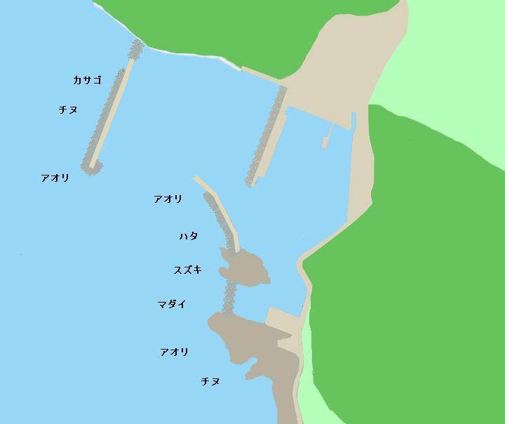 堤漁港のポイント