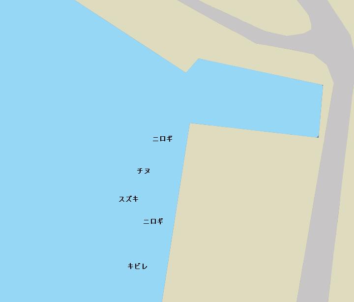 浦戸湾弘化台北側のポイント