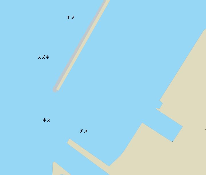 浦戸湾中洲堤