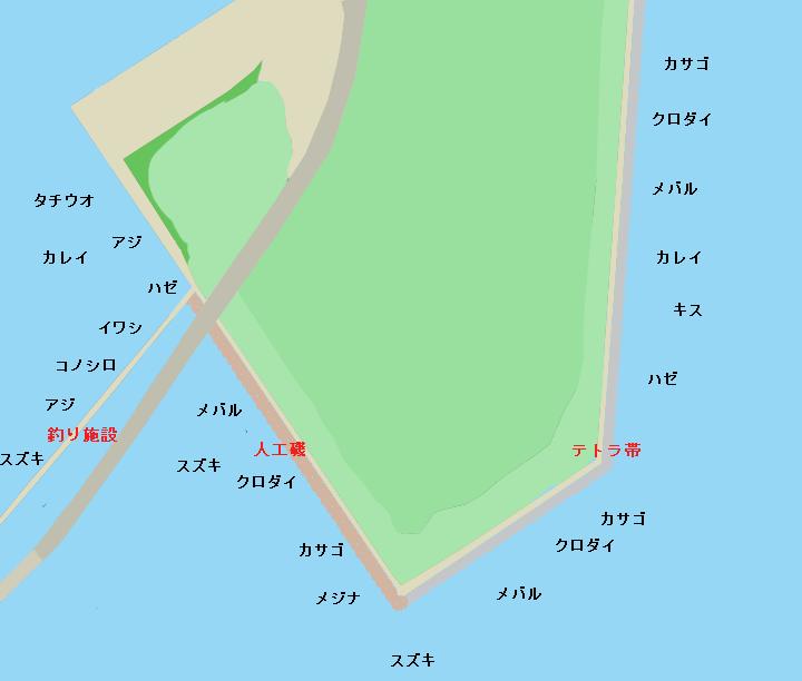 若洲海浜公園のポイント