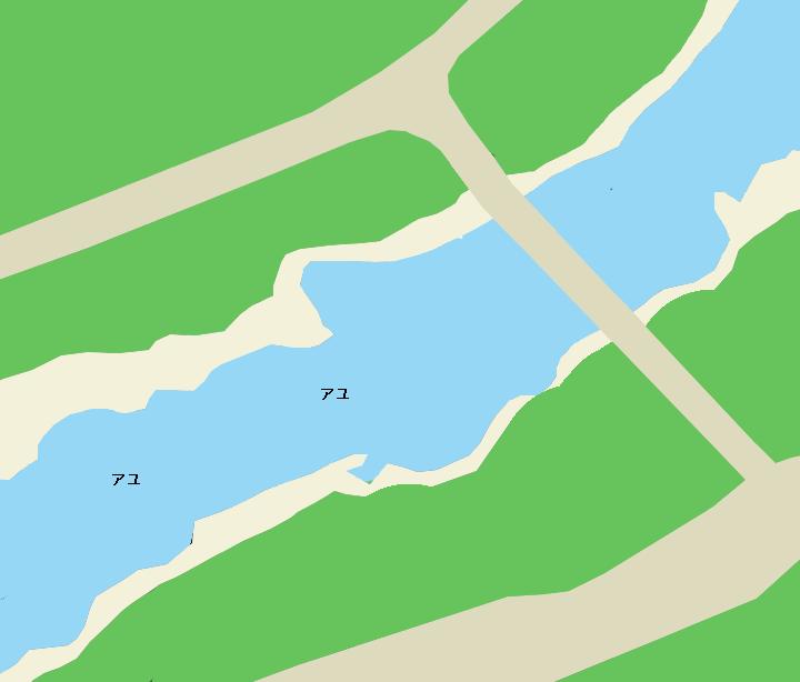 吉野川大岩橋周辺のポイント