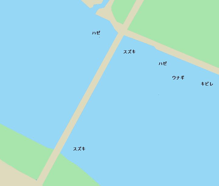 吉野川大橋周辺のポイント